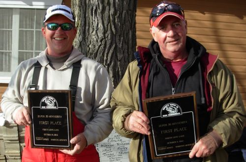 Mike & Buzz Guin North Long Lake 10-6-12 Super 30 Minnesota Bass Champions