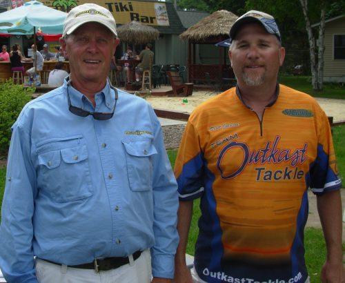 Denny Nelson Scott Johnson 2nd place Chetek Chain 2012 Super 30 MN