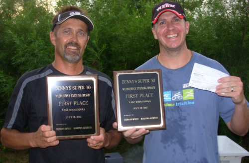 7-18-2012 Brian Krause Tom Becker Wednesday Night Bassin tournament