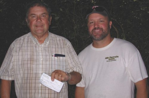Conrad Corey Guttenfelder 1st Place 8-1-12 Wednesday Night Bassin