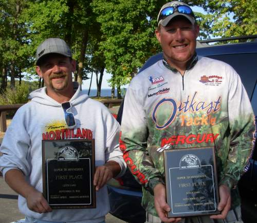 Josh Leeseberg Conner Summers Leech Lake 9-15-2012 Super 30 Champions