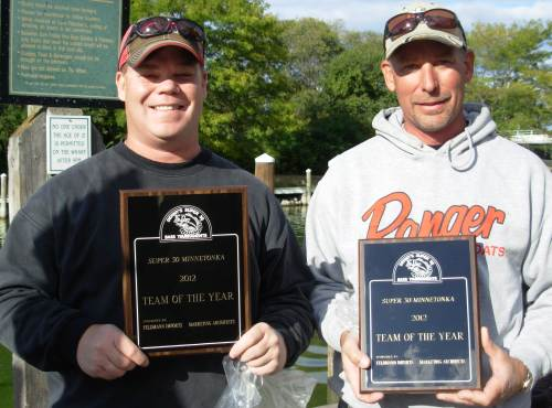 Bob Hennen Todd Doege Team of the Year Super 30 2012