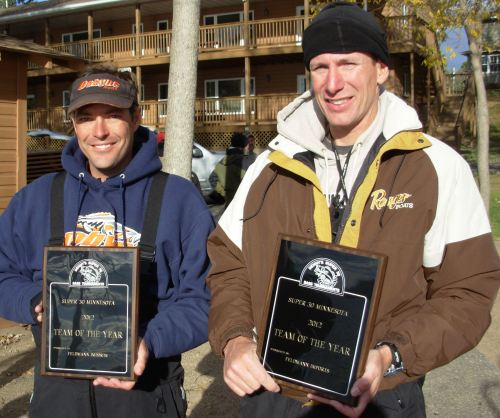 Mike Polencheck Brad Longerbone Team of the Year Super 30 MN 2012