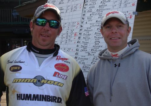 Brad Leuthner Jeff Meuwissen Super 30 runner up Team of the Year for 2012