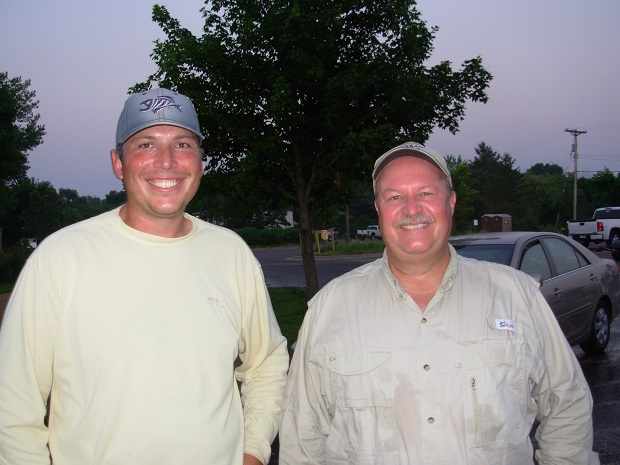 Wednesday Night Bassin 7-10-2013 Champions Corey Weber Randy LaTourelle